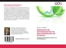Обложка Aplicación de corinebacterias en biorremediación de arsénico