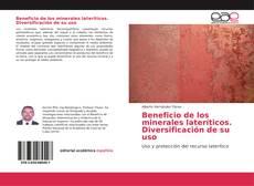 Bookcover of Beneficio de los minerales lateríticos. Diversificación de su uso