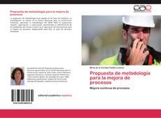 Обложка Propuesta de metodología para la mejora de procesos
