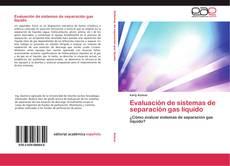 Portada del libro de Evaluación de sistemas de separación gas líquido