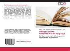 Bookcover of Didáctica de la competencia investigativa