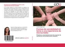 Buchcover von Formas de sociabilidad en torno a una experiencia de microcrédito