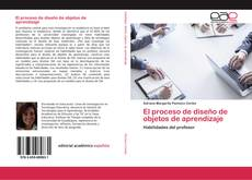 Buchcover von El proceso de diseño de objetos de aprendizaje