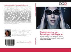 Copertina di Guía didáctica de Psicología del Deporte