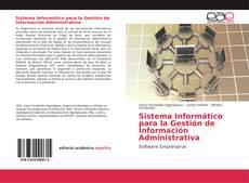 Capa do livro de Sistema Informático para la Gestión de Información Administrativa