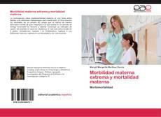 Bookcover of Morbilidad materna extrema y mortalidad materna