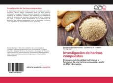 Copertina di Investigación de harinas compuestas