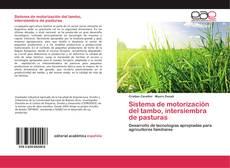 Buchcover von Sistema de motorización del tambo, intersiembra de pasturas