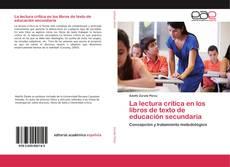 Bookcover of La lectura crítica en los libros de texto de educación secundaria
