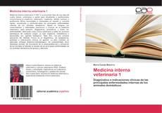 Portada del libro de Medicina interna veterinaria 1