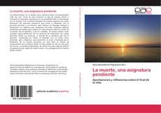 Bookcover of La muerte, una asignatura pendiente