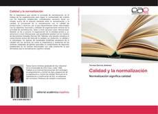 Portada del libro de Calidad y la normalización