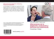 Copertina di Alteraciones de la deglución: evaluación y técnicas de tratamiento