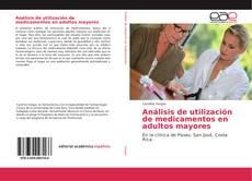 Bookcover of Análisis de utilización de medicamentos en adultos mayores