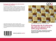 Capa do livro de Evaluación de 4 cultivares de caña de azúcar en la CPA Jorge Dimitrov