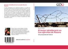 Capa do livro de El lector intraliterario en Los ejércitos de Rosero