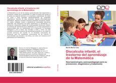Copertina di Discalculia infantil, el trastorno del aprendizaje de la Matemática
