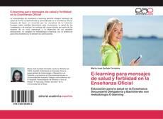 Portada del libro de E-learning para mensajes de salud y fertilidad en la Enseñanza Oficial