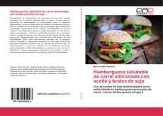 Couverture de Hamburguesa saludable de carne adicionada con aceite y brotes de soja