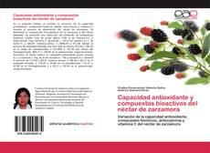 Buchcover von Capacidad antioxidante y compuestos bioactivos del néctar de zarzamora