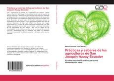 Portada del libro de Prácticas y saberes de los agricultores de San Joaquín-Azuay-Ecuador