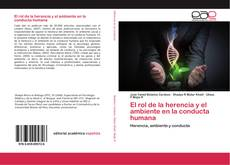 El rol de la herencia y el ambiente en la conducta humana kitap kapağı