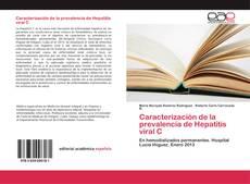 Bookcover of Caracterización de la prevalencia de Hepatitis viral C