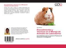 Portada del libro de Procedimientos y Técnicas en el Manejo de Animales de Laboratorios