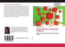 Buchcover von Toponimia en el Estado Federal