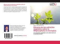 Buchcover von Eficacia de los extractos vegetales sobre la Rhipicephalus b.microplus