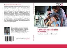 Capa do livro de Formación de valores humanos