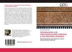 Capa do livro de Introducción a la educación árabe islámica y sus desafíos actuales