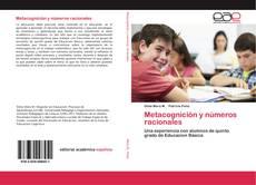 Copertina di Metacognición y números racionales
