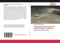 Concepto y funciones de los principios jurídicos kitap kapağı