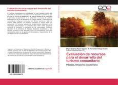 Capa do livro de Evaluación de recursos para el desarrollo del turismo comunitario