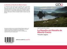 Capa do livro de La filosofía sin filosofía de Alberto Caeiro