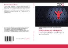 Bookcover of El Bioderecho en Mexico