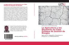 Portada del libro de La Agricultura y los Desastres en Cuba. Enfoque de Gestión de Riesgos