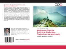 Portada del libro de Modelo de Gestión Turística Sostenible. Ecoturismo en Machachi