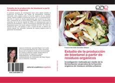 Buchcover von Estudio de la producción de bioetanol a partir de residuos orgánicos