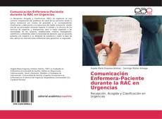 Portada del libro de Comunicación Enfermera-Paciente durante la RAC en Urgencias