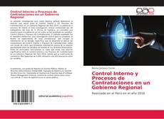 Portada del libro de Control Interno y Procesos de Contrataciones en un Gobierno Regional
