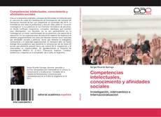 Couverture de Competencias intelectuales, conocimiento y afinidades sociales