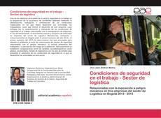 Copertina di Condiciones de seguridad en el trabajo - Sector de logística
