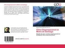 Bookcover of Clima Organizacional en Metro de Santiago