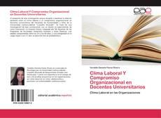Clima Laboral Y Compromiso Organizacional en Docentes Universitarios的封面