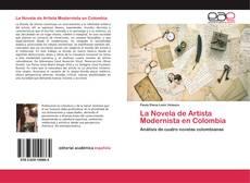 Portada del libro de La Novela de Artista Modernista en Colombia