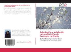 Bookcover of Adaptación y Validación del perfil CUE en la Provincia de Ñuble