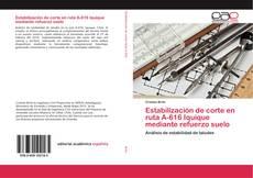 Bookcover of Estabilización de corte en ruta A-616 Iquique mediante refuerzo suelo