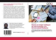 Portada del libro de Hacia un mejor enfoque de aprendizaje a la Universidad Haitiana